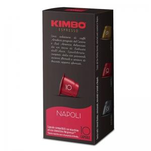 Kimbo cápsulas compatibles Nespresso Napoli