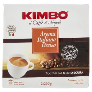 Caffè Kimbo Aroma Italiano Gusto Deciso 2x250g