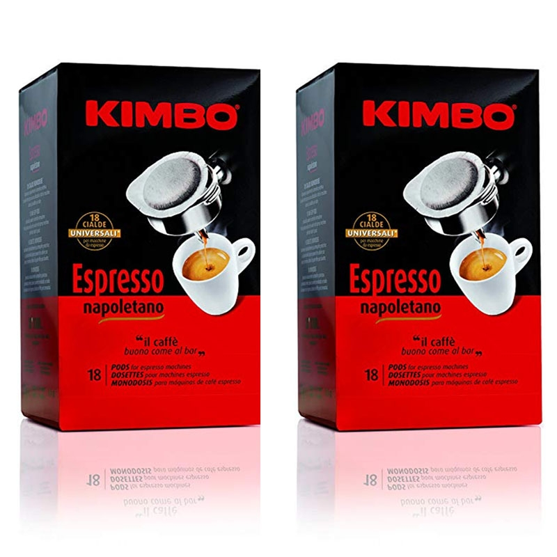 Details About Kimbo Espresso Napoletano 18x2 Pods Carton 6 Packages 216 Pods