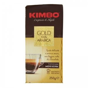 Caffè  Kimbo Gold 100% Arabica 250g