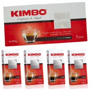Caffè  Kimbo Macinato Fresco 4x250g