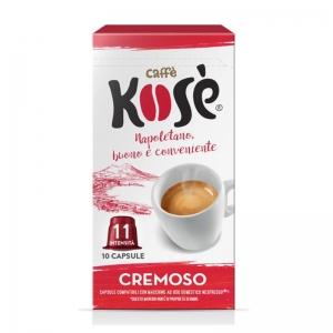 Capsules crémeuses au café Kosé Nespresso