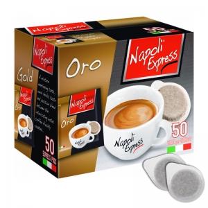 Espresso coffee ORO 50 pods - Napoli Express