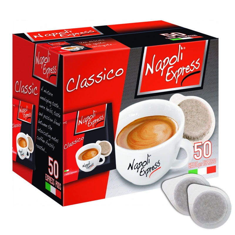 Café exprés Classico 50 vainas - Naples Express