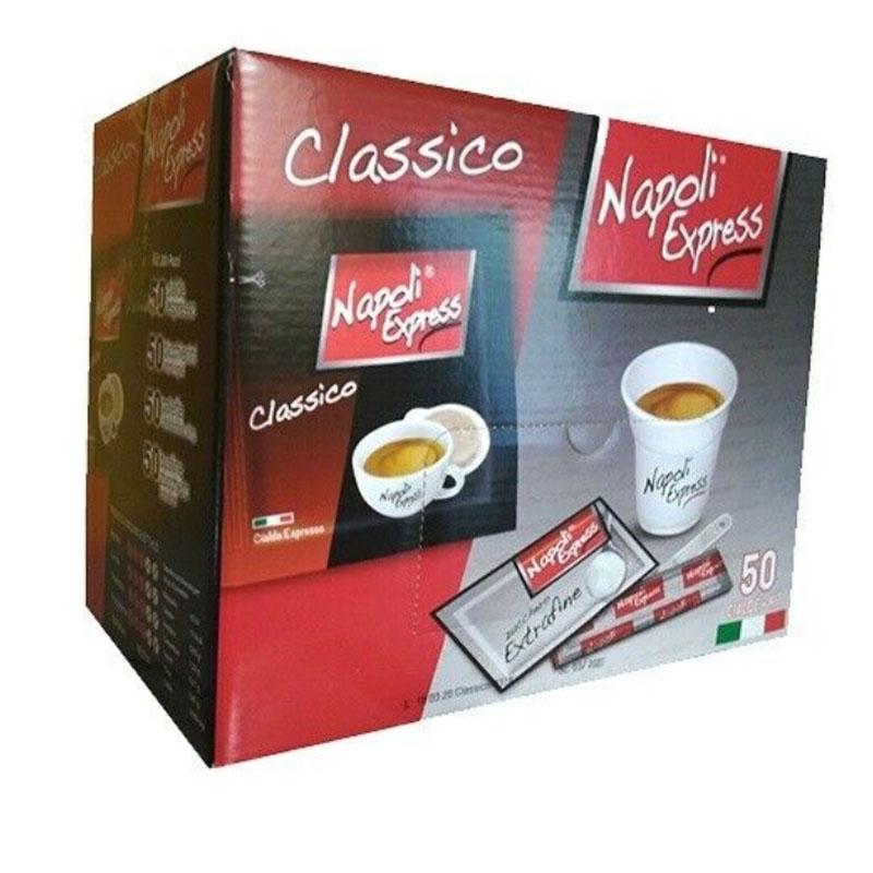 Café expreso Classico 50 vainas + Kit - Napoli Express
