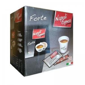 Espresso coffee Forte 50 pods +Kit - Napoli Express