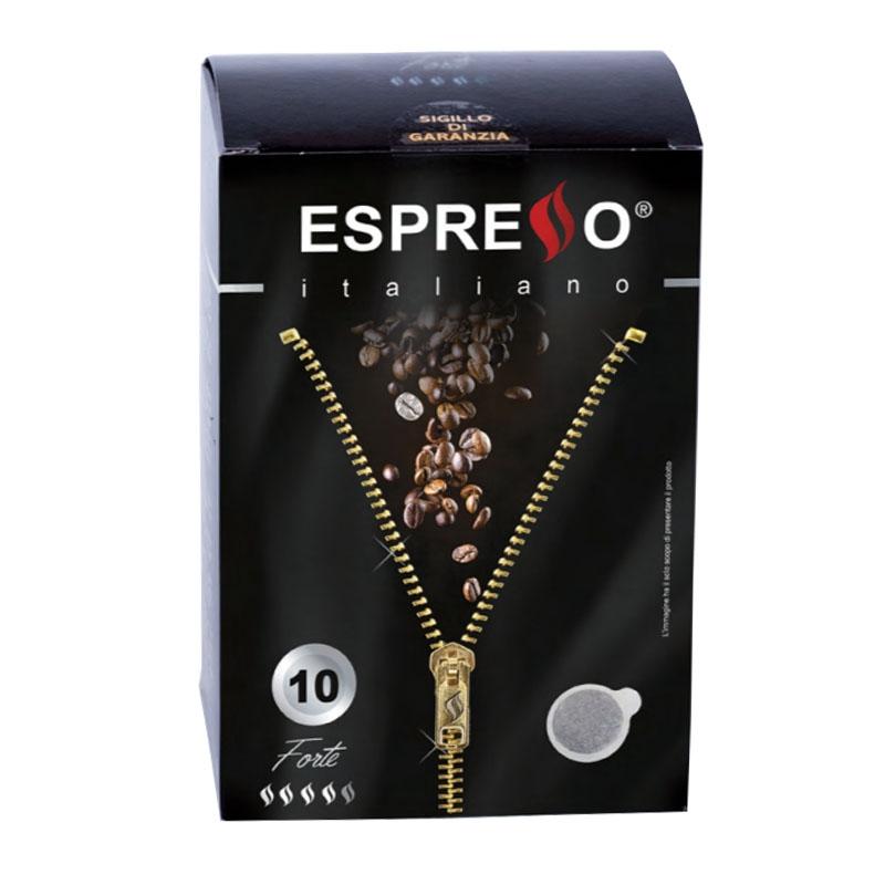 Espresso coffee Forte 10 pods - ESPRESSO Italiano