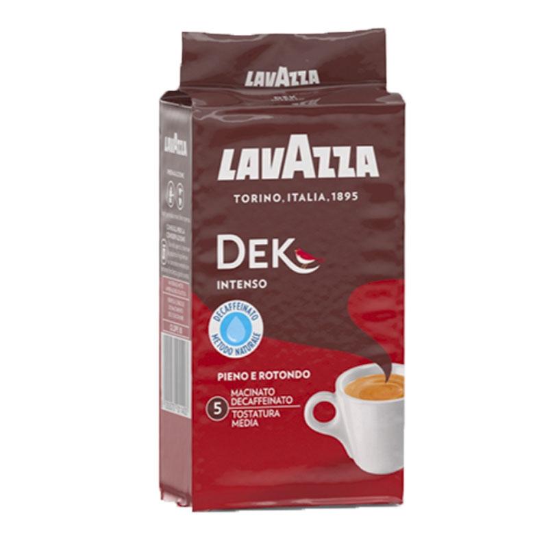 Café Dek Gusto Intenso 250g  descafeinadas - LavAzza