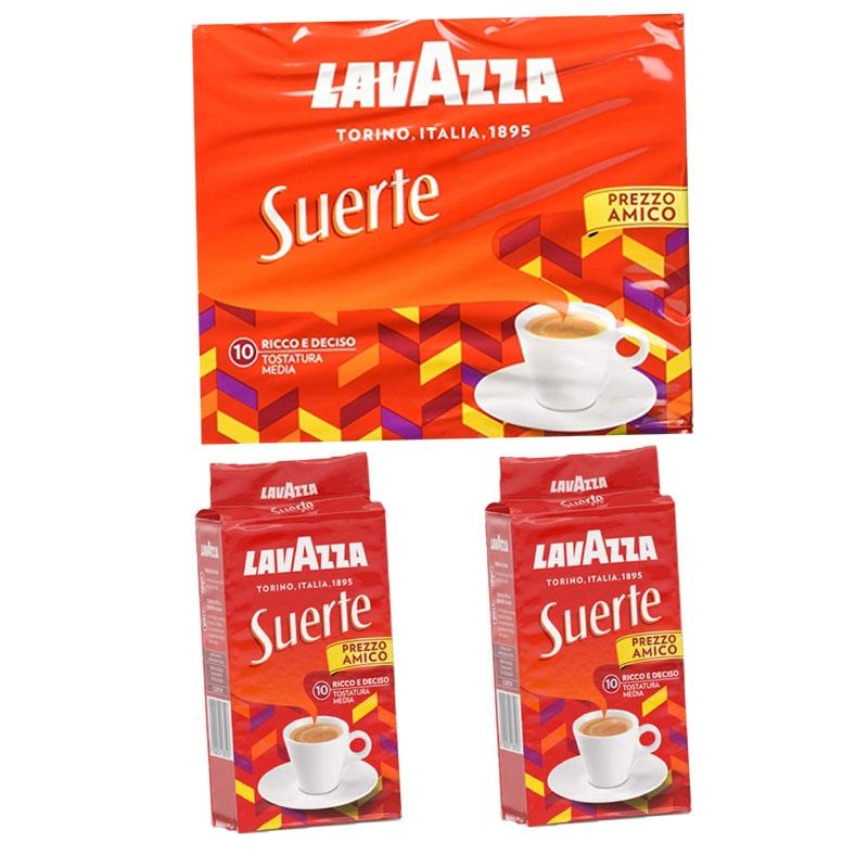 Suerte de cafe 2x250g - LavAzza