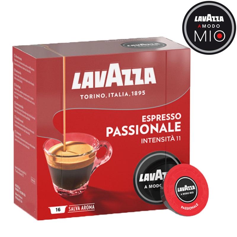 A Modo Mio Espresso Passionale 16 cápsulas - LavAzza