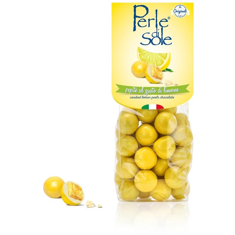 Candied lemon peels - Perle di Sole