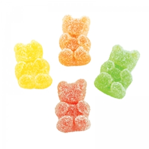 Bonbons Citric Teddy Bears - Kg. 2 Papillon