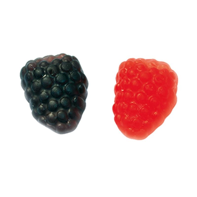 Caramelos Gomosos Más & Frambuesas - Kg. 2 Papillon