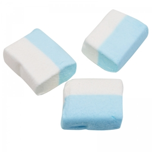 Marshmallows Cubetto Bianco blu - Kg. 1 Papillon