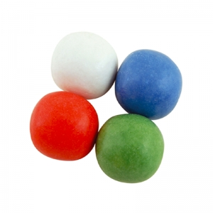 Bubble gum balls XL 24mm - Kg. 2,5 Papillon
