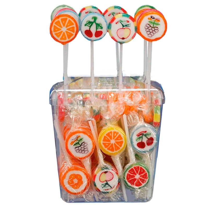 Fruit Pops Lollipop– 10 Gr x 100 Pz. Papillon