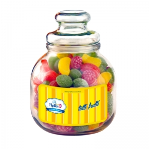 Vase En Verre De Fruits - 966 Gr Papillon