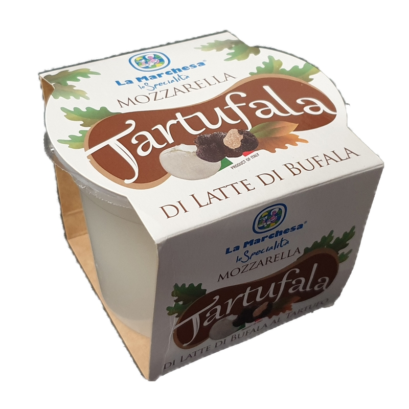 Mozzarella di Latte di Bufala al Tartufo 600 Gr. - Tartufala