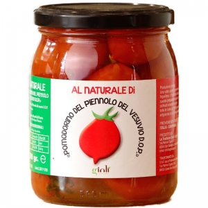 Tomate Piennolo Vesubio D.o.p. en Natural 500 Gr.