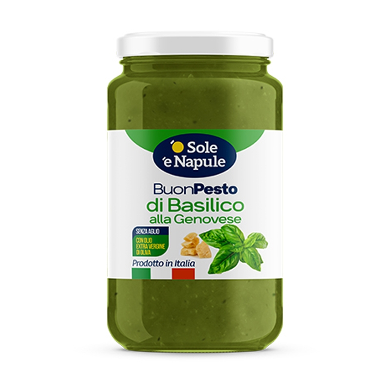 "Pesto de Genovese – 190 gr - ""O Sol e Napule"""