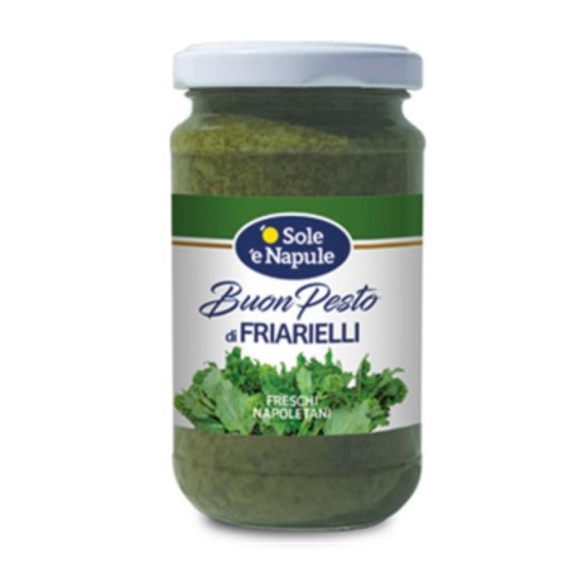 "Pesto de Brócoli Napolitano - Vaso 190 g - ""O Sol e Napule"""