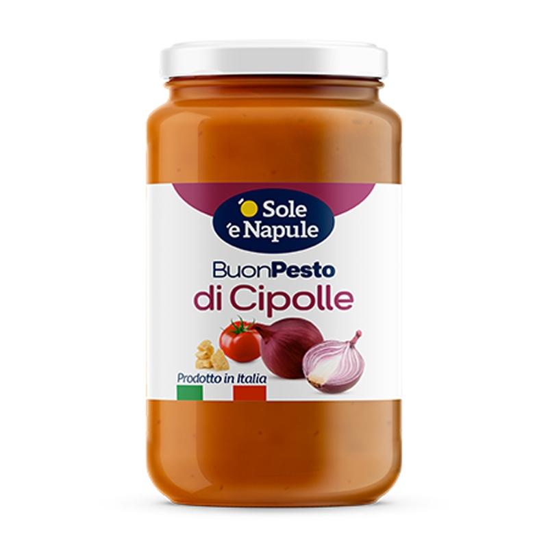 """Pesto de Cebollas - Vaso 190 g - """"O Sol e Napule"""""""