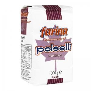 Polselli flour 0 Manitoba - Kg. 1