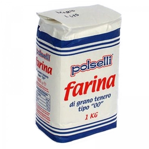 National flour 00 Polselli - 1 Kg
