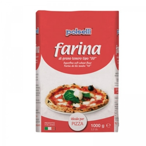 Polselli 00 flour ideal for pizza - Kg. 1