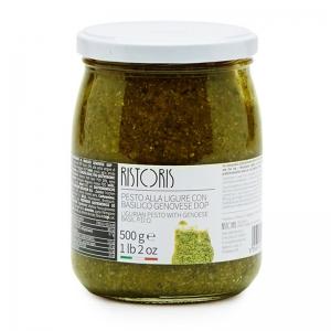 Pesto de Ligurie au basilic génois D.O.P. 500 Gr. - RISTORIS