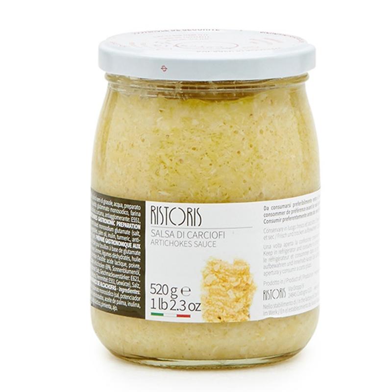 Salsa de alcachofa 520 Gr. - RISTORIS