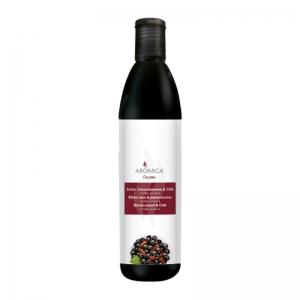 Crème balsamique cassis et piment SQUEEZER 500ML - Aromica