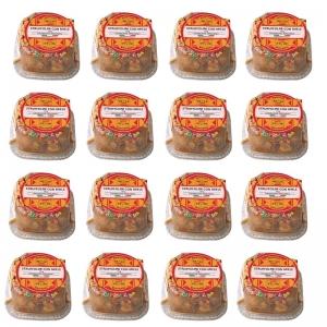 Struffoli con Miele - 16 Mono porzioni da 75 Gr.