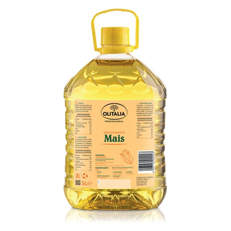 Aceite de semilla de maíz 5 litros - Olitalia