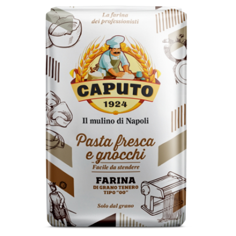 Harina de Caputo Pasta fresca y ñoquis Kg. 1