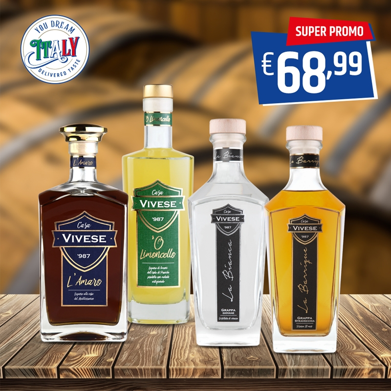 Kit Casa Vivese Liquor