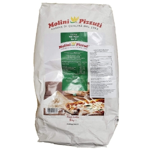 "Pizzuti flour ""0"" for pizza Kg. 5"