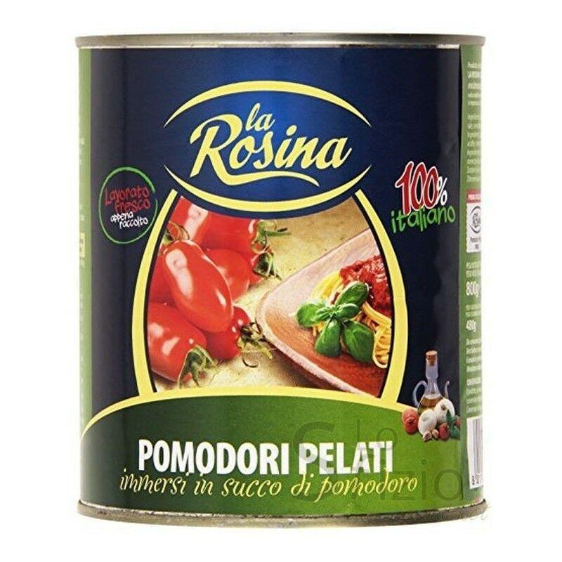 Geschälte Tomaten 2550 gr. La Rosina