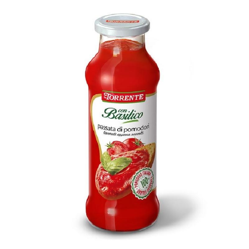 Passata di pomodoro con basilico - La Torrente