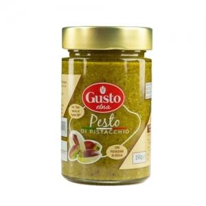 Pesto à la pistache – 190 gr - Gusto ETNA