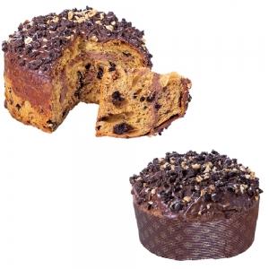 Panettone lievitato naturalmente Pan Cookies alla nocciola - iMarigliano