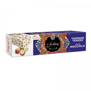 Soft nougat with hazelnuts 85 Gr.