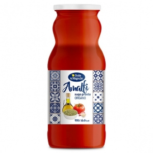 "READY SAUCE ""TOMATO AND OREGANO"" 350gr - ""O Sol e Napule"""