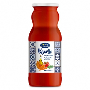 """TOMATO AND PUMPKIN"" READY SAUCE 350gr - ""O Sol e Napule"""