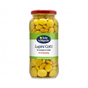 """Lupins cuits dans l'eau et le sel 540 Gr - """"O Sol e Napule"""""""
