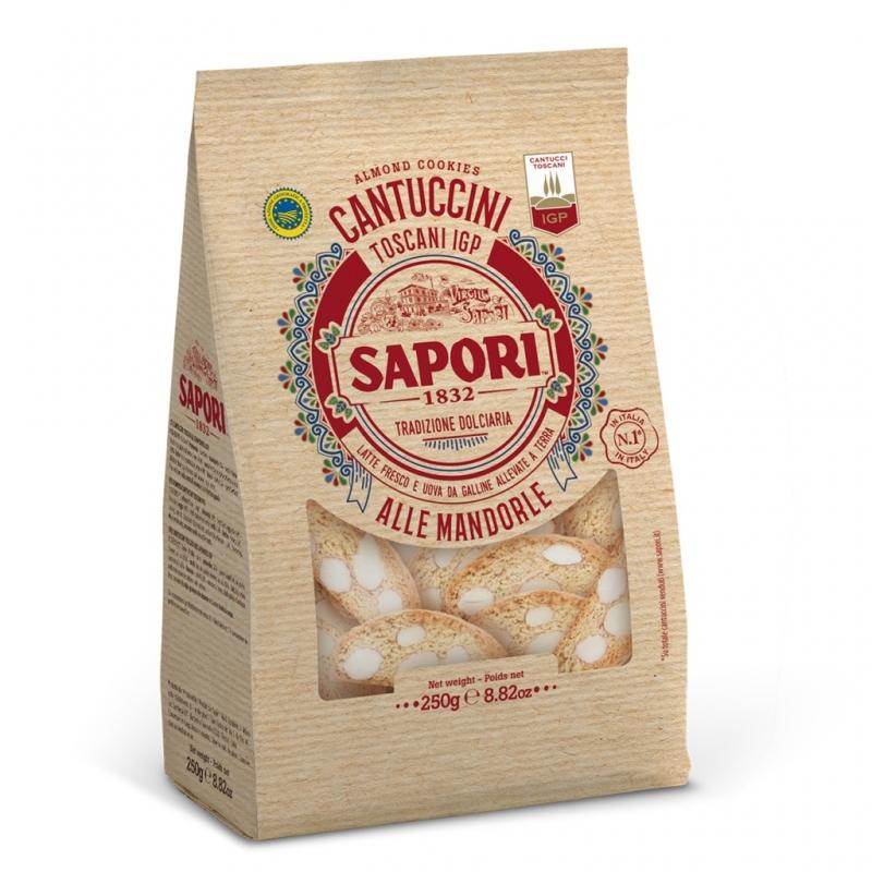 Toskanische Cantuccini Aromen mit Mandeln 600 Gr