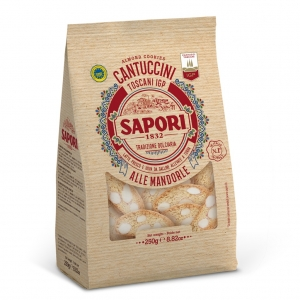 Tuscan Cantuccini Flavors with Almonds 600 Gr