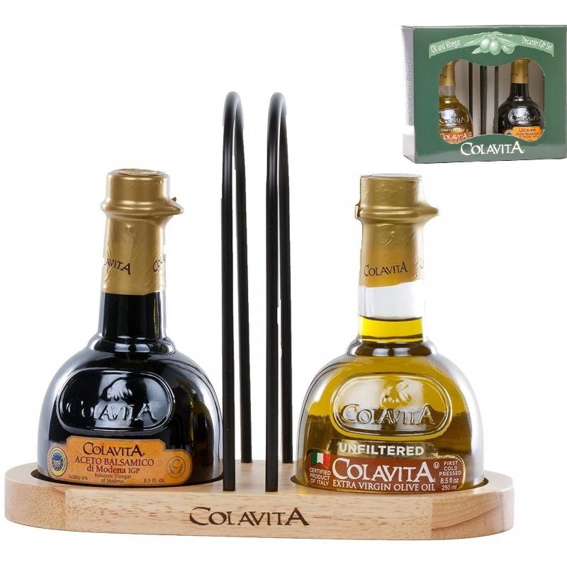 Huile et vinaigre traditionnels mis en carafe - Colavita