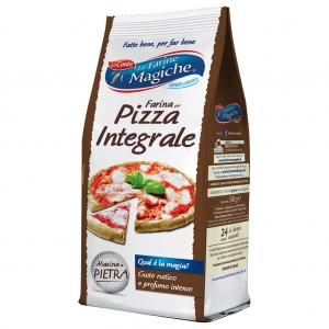 Le Farine Magiche per pizza integrale 500 Gr.