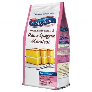 Le Farine Magiche Pan di Spagna Maestoso 500 Gr.